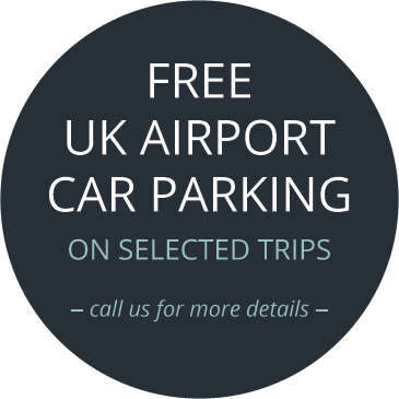 Free UK Airport Car Parking On Selected Trips, call us for more details